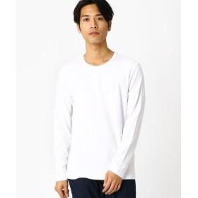 COMME CA ISM/コムサイズム クルーネックTシャツ ホワイト S