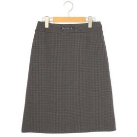KEITH Lサイズ/キースエルサイズ ストレッチチドリ スカート チャコールグレー 44