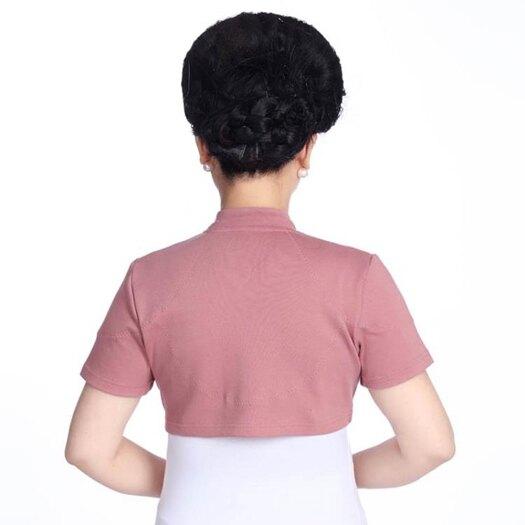 空調房護肩中老年四季通用純棉小立領透氣男女睡覺雙層保暖護頸 探索先鋒 母親節禮物
