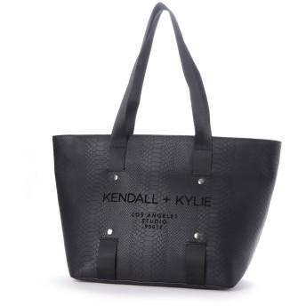 ケンダルアンドカイリー KENDALL+KYLIE レディーストートバッグHBKK-319-0007-80 (Black)