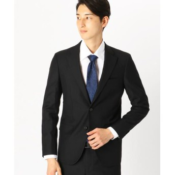 COMME CA ISM/コムサイズム 《セットアップ》 カノニコ super110's シャドーストライプ スーツジャケット ブラック S