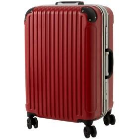 [luckypanda(ラッキーパンダ)] TY051 スーツケース lサイズ キャリーバッグ 大型 フレーム 1年修理保証対応 TSAロック 鍵付 ハード キャリーバック キャリーケース Lサイズ レッド
