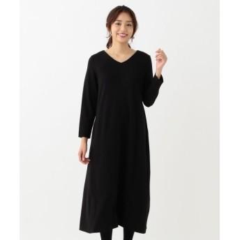 any SiS/エニィスィス 【洗える】Aラインフレア ワンピース ブラック系 2