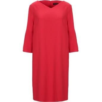 《セール開催中》ANTONELLI レディース ミニワンピース&ドレス レッド 40 ポリエステル 94% / ポリウレタン 6%