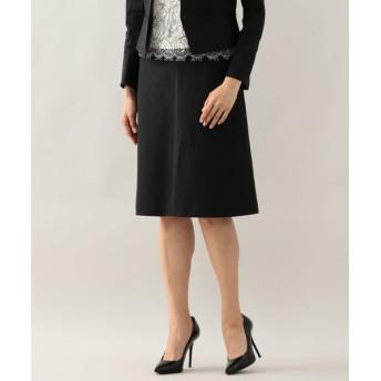 EPOCA/エポカ フィジックスラミー 台形スカート ブラック1 38