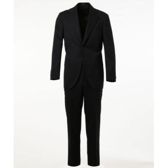 J.PRESS/ジェイプレス 【HIGHLANDS PEPPIN MERINO】エレガンスツイル スーツ ブラック系 A5