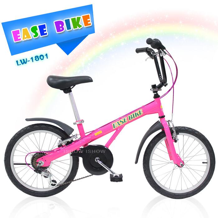 ishow網 ease bike 18吋6速 shimano 巨輪多功能休閒車 童車