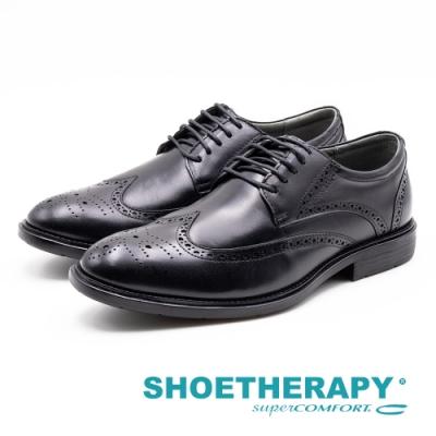 SAPATOTERAPIA 巴西男士 雕花繫帶皮鞋 男鞋 黑 AA2-42905-01