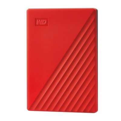 WD My Passport 1TB(紅) 2.5吋行動硬碟