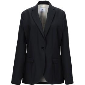 《セール開催中》MANUEL RITZ レディース テーラードジャケット ブラック 42 バージンウール 100%