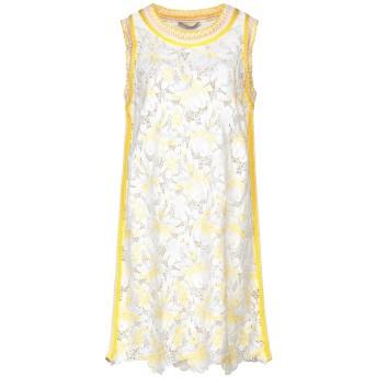 《セール開催中》ERMANNO SCERVINO レディース ミニワンピース&ドレス ホワイト 44 レーヨン 86% / ポリエステル 14% / コットン
