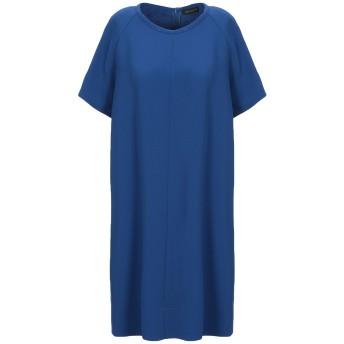 《セール開催中》ANTONELLI レディース ミニワンピース&ドレス ブライトブルー 42 ポリエステル 94% / ポリウレタン 6%
