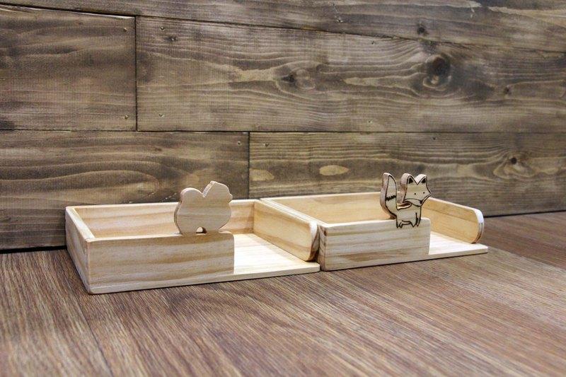 原木 A6便條紙盒 便條紙座 收納盒 桌上型收納 客製化