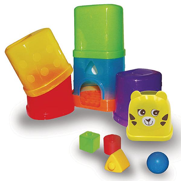 獨家品牌Bru小熊寶雲 寶寶疊疊樂玩球趣