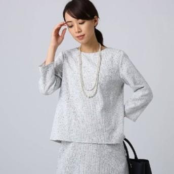 【ママスーツ/入学式 スーツ/卒業式 スーツ】ソフィアネオツイードブラ