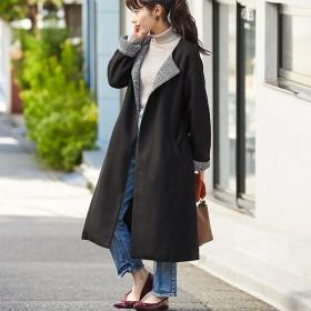 [マルイ] 【WEB限定】フェイクスライバーノーカラーコート/ジーラ バイ リュリュ(ファッション)(GeeRA (fashion))