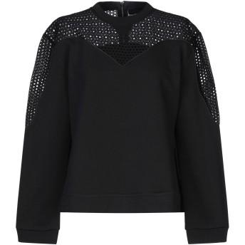 《セール開催中》DIESEL BLACK GOLD レディース スウェットシャツ ブラック XXS コットン 100% / ポリウレタン