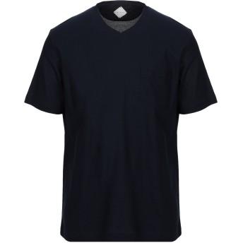 《セール開催中》PAL ZILERI メンズ T シャツ ダークブルー S コットン 100%