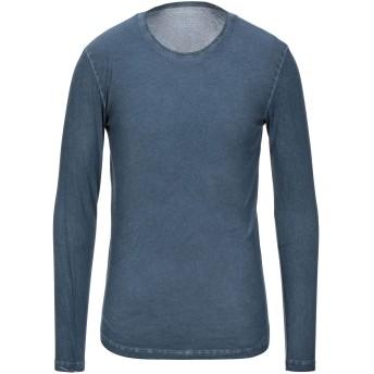 《セール開催中》MAJESTIC FILATURES メンズ T シャツ ブルー M コットン 100%