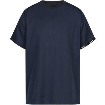 《セール開催中》NUMERO 00 メンズ T シャツ ブルーグレー M テンセル 100%