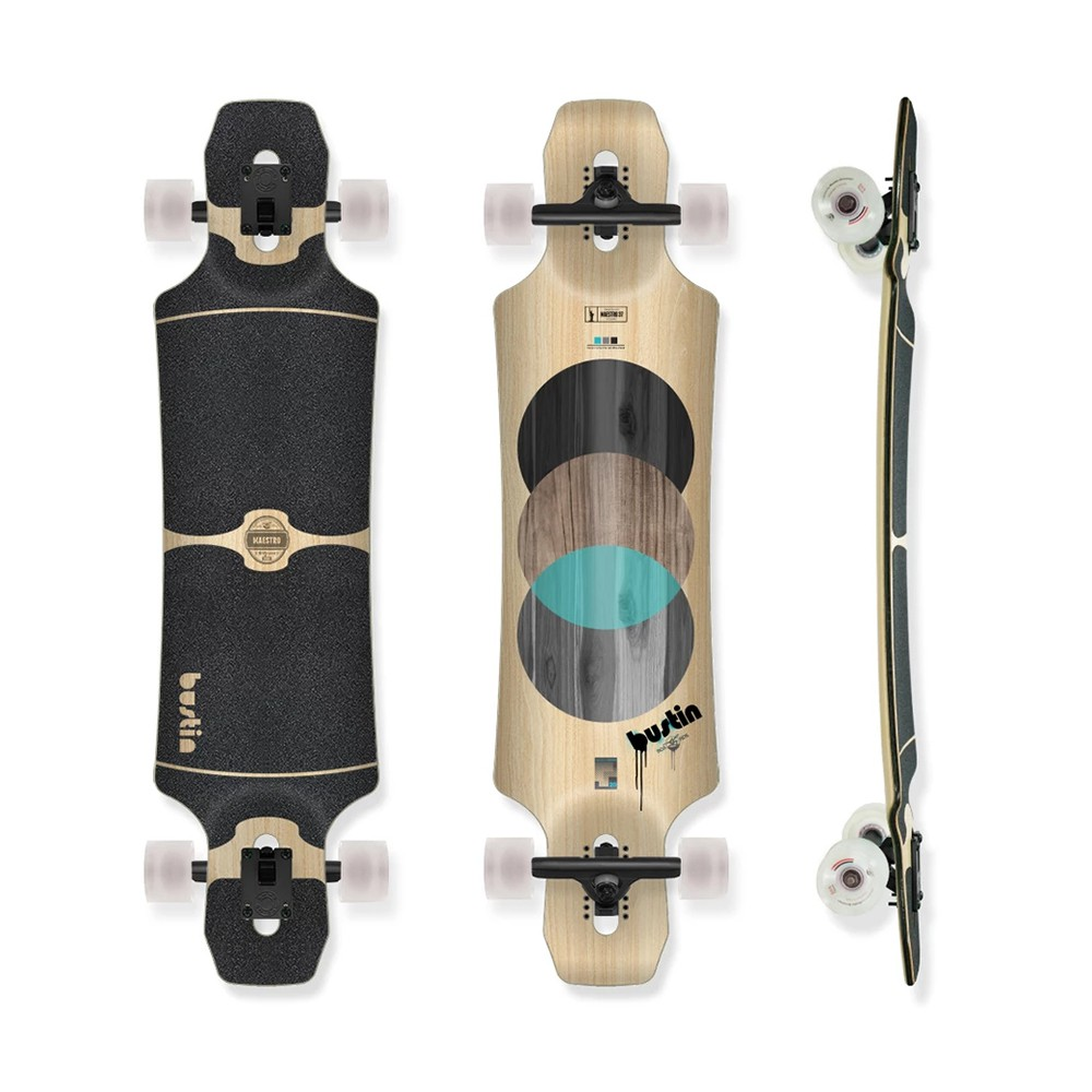 【Bustin Boards】(滑板/ 長板) - Maestro ELEMENTS 大師 (板身) - LTS 現貨