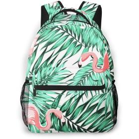 リュック 明るい熱帯ジャングル, バックパック リュックサック ビジネスリュック メンズ レディース カジュアル 男女兼用 軽量 通勤 通学 旅行 鞄 バッグ カバン