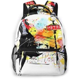 リュック 少女メイク, バックパック リュックサック ビジネスリュック メンズ レディース カジュアル 男女兼用 軽量 通勤 通学 旅行 鞄 バッグ カバン