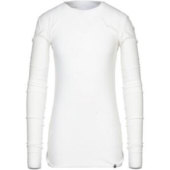 《セール開催中》NOSTRASANTISSIMA メンズ T シャツ ホワイト XS コットン 100%