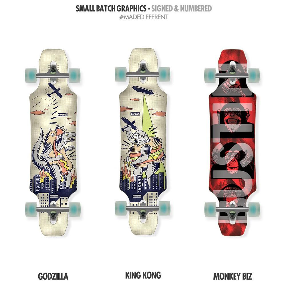 【Bustin Boards】(滑板長板、交通板) - Maestro Mini (E)Core 迷你大師 (板身)