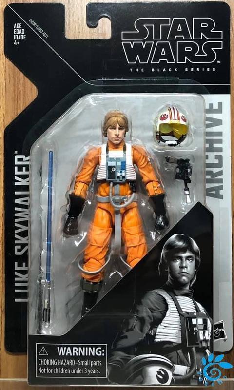 ☆勳寶玩具舖【現貨】星際大戰 Star Wars 黑標系列經典全紀錄 6吋收藏人物組--路克天行者 Luke Skywalker
