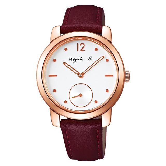 【agnes b.】法式獨立優雅時尚手錶(BN4012X1)