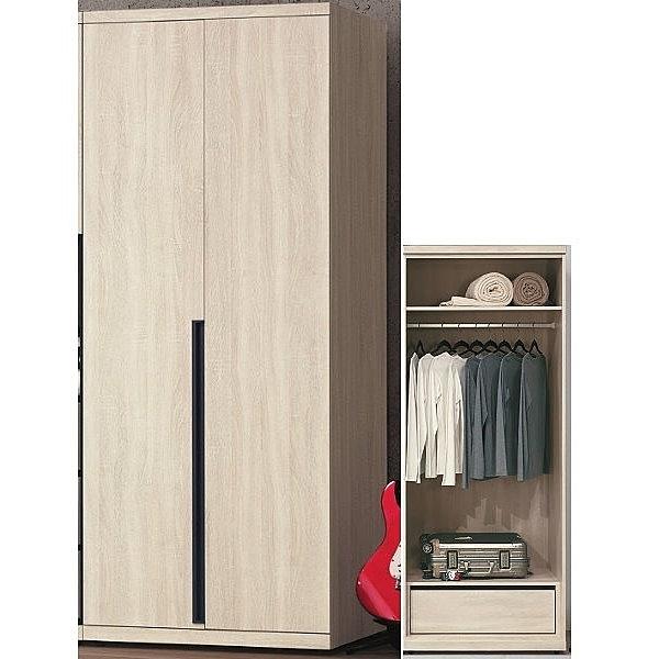 衣櫃 衣櫥 PK-152-2 韋克2.7尺單吊衣櫃【大眾家居舘】