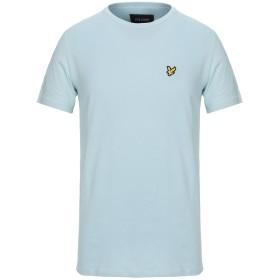 《セール開催中》LYLE & SCOTT メンズ T シャツ アジュールブルー S コットン 100%