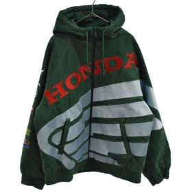 SUPREME(シュプリーム)19AW ×Honda ホンダ ×Fox Racing フォックスレーシング Puffy Zip Up Jacket ジップアップジャケット
