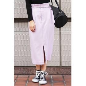 フリーズマート ◆ナローベルト付きタイトスカート レディース ピンク FR 【FREE'S MART】