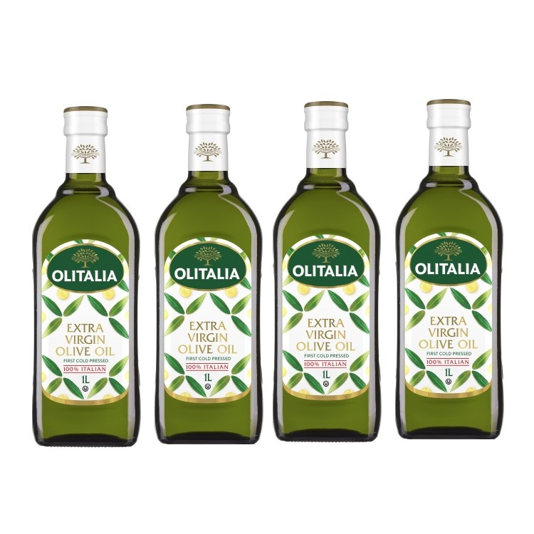 奧利塔特級初榨橄欖油1公升4瓶組(可選擇搭贈奧利塔禮盒)(限配送台灣本島地區)
