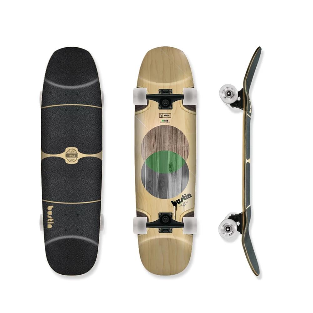 【Bustin Boards】(滑板長板) - Yoface ELEMENTS (板身) - LTS 現貨