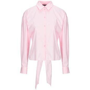 《セール開催中》ARMANI EXCHANGE レディース シャツ ピンク S コットン 96% / ポリウレタン 4%