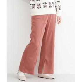 メルロー 内スリットスラックスパンツ レディース ピンク FREE 【merlot】