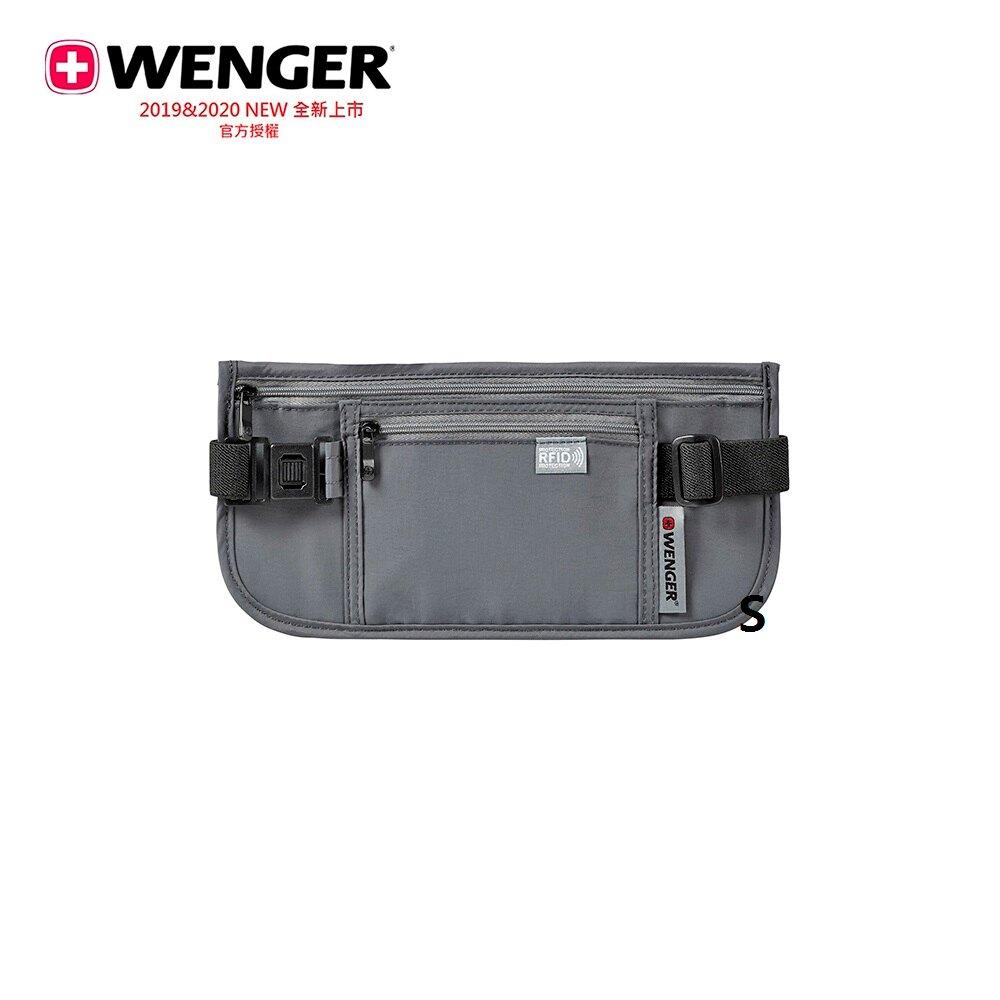 Wenger 604588 含口帶腰包 RFID /灰