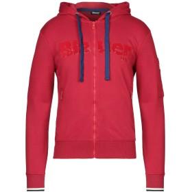 《セール開催中》BLAUER メンズ スウェットシャツ レッド S コットン 80% / ポリエステル 20%