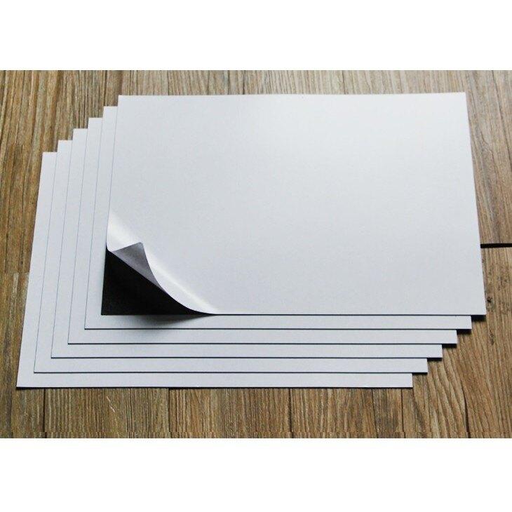 【軟磁片-0.5mm厚】背膠/無背膠 A2/A3/A4 軟性磁片 軟性磁鐵 軟磁板