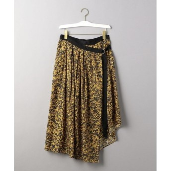 BEAUTY&YOUTH UNITED ARROWS / ビューティ&ユース ユナイテッドアローズ <08sircus>フラワープリントギャザーラップスカート