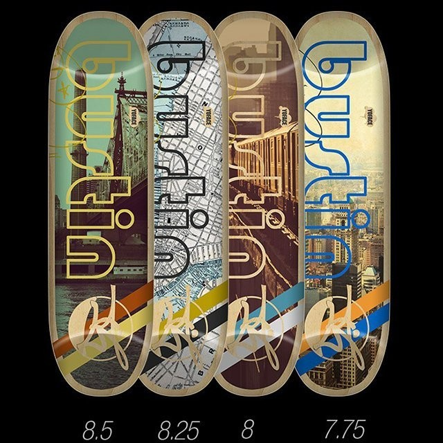 【Bustin Boards】(滑板/ 交通板) - Street 特技板(搭配 Avenue 輪架整組)