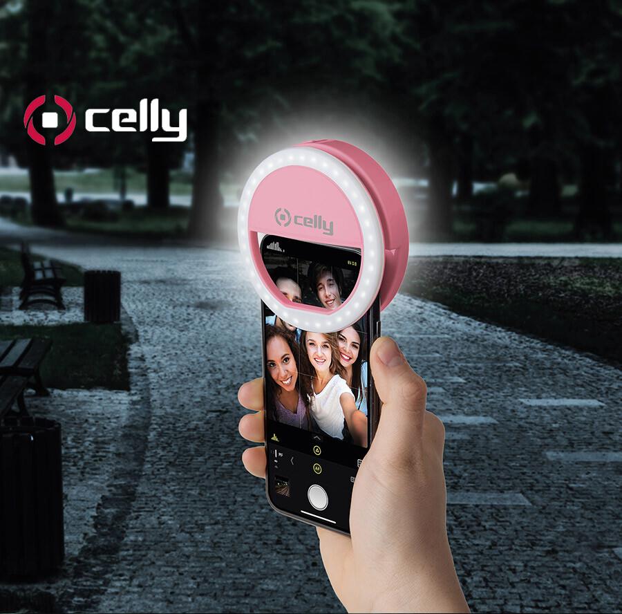 分享 celly 美瞳自拍神器手機補光燈