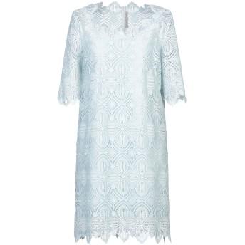 《セール開催中》ERMANNO SCERVINO レディース ミニワンピース&ドレス スカイブルー 44 ポリエステル 100% / ナイロン