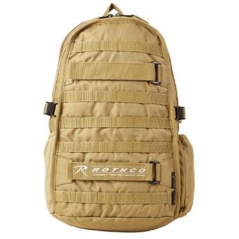 カバンのセレクション ロスコ リュック コーデュラ デイパック 23L A4ファイル/B4用紙 ROTHCO 45002 メンズ ブラウン フリー 【Bag & Luggage SELECTION】