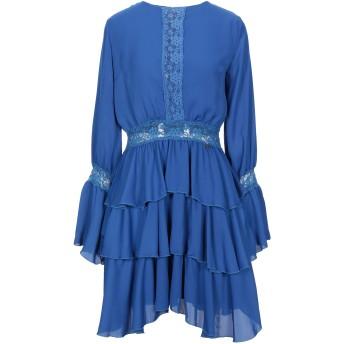 《セール開催中》RELISH レディース ミニワンピース&ドレス ブルー S ポリエステル 100%