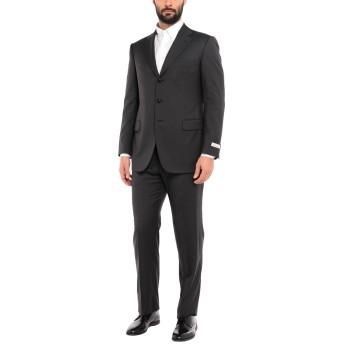 《セール開催中》PAL ZILERI CERIMONIA メンズ スーツ スチールグレー 54 ウール 100%