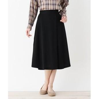 【SHOO・LA・RUE:スカート】ストレッチジャージーラップスカート